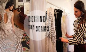 Behind the Seams by Holly Gardner, Catherine Lourandos and Banele Msimango