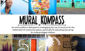 Mural Kompass by Tendekai Finos, Ntando Mbali and Yazmine Horowitz