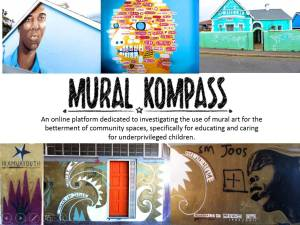 Mural Kompass – investigating the use of mural art for social upliftment
